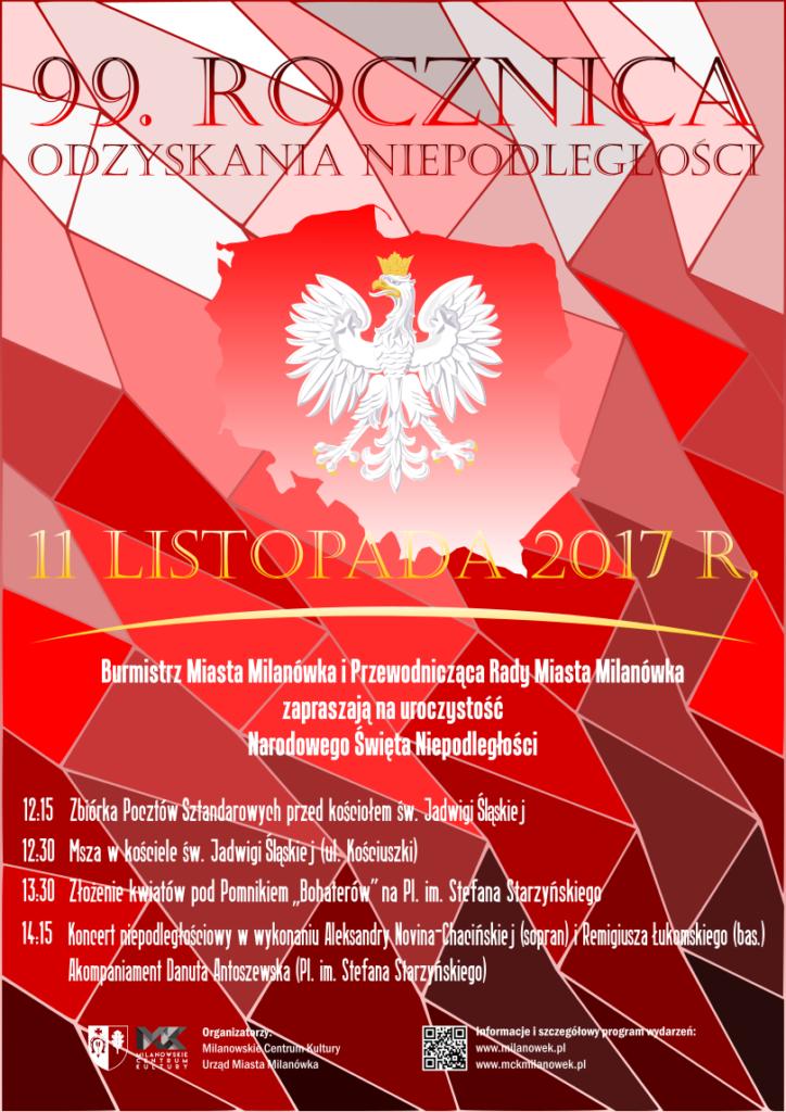 Narodowe święto Niepodległości W Milanówku Mck Milanówek