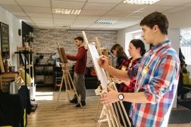 rysunek i malarstwo w Kurniku2